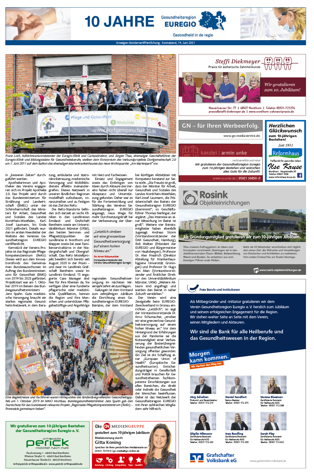 Sonderveröffentlichung Grafschafter Nachrichten - Seite 2
